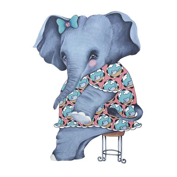 Moos het olifantje