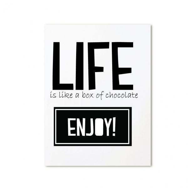 zoedt-kaart-life-is-like-chocolate
