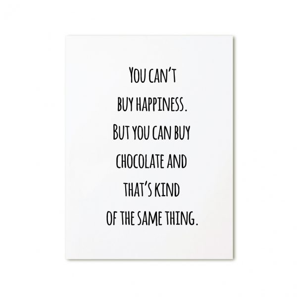 zoedt-kaart-you-can't-buy-happiness