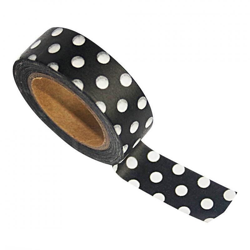 zoedt-masking-tape-zwart-met-stippen