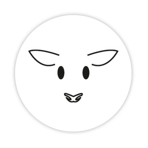 Lamb button