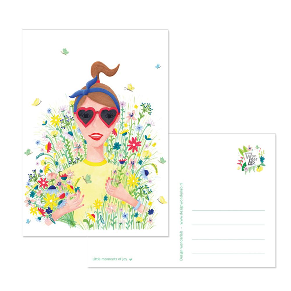 bloemenmeisje design wonderlab