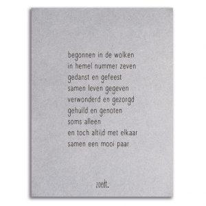 Zoedt-kaart-grijsboard-gedicht-huwelijk-jubileum