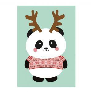 Studio-Inktvis-panda-kersttrui
