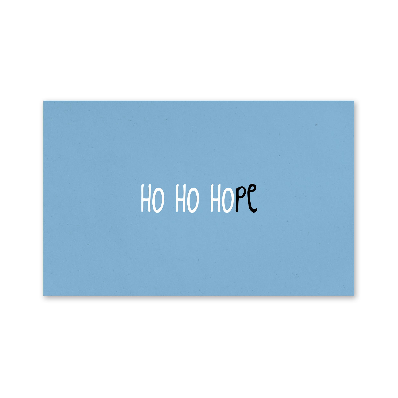Zinvol-ho-ho-hope