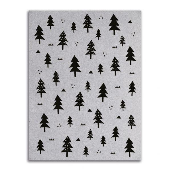 Zoedt-kaart-grijsboard-Kerst-patroon