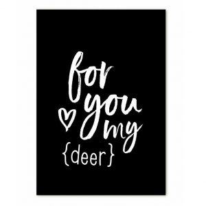 zoedt-minikaartje-met-tekst-for-you-my-deer