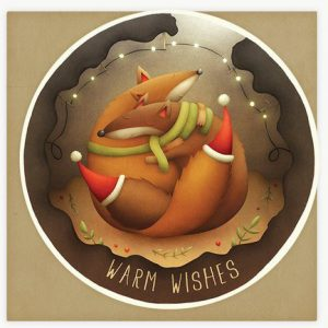 Lea-Vervoort-kerst-kaart-vos