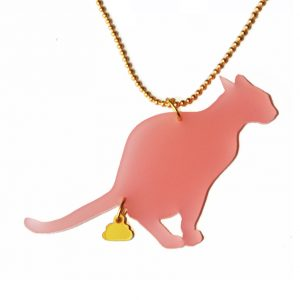 naked-design-ketting-cat-turd-roze