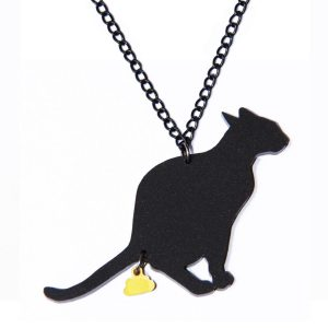 naked-design-ketting-cat-turd-zwart