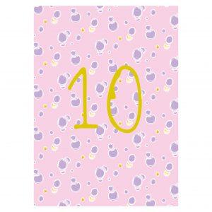 Getalkaart-10-tien-verjaardagskaart-verjaardag