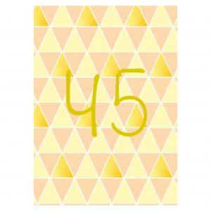 Getalkaart-45-verjaardagskaart-verjaardag