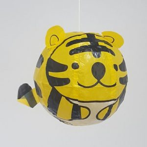 Japanese-Paper-Balloons-Tiger