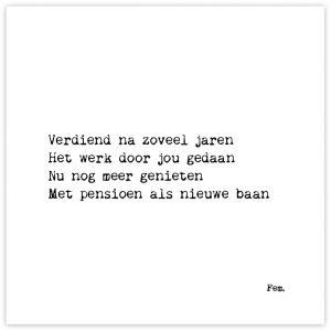Pensioen-Papierpleziertjes