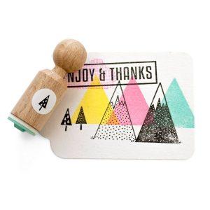 boom-driehoekjes-mini-stempel