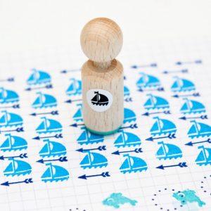miss-honeybird-bootje-mini-stempel