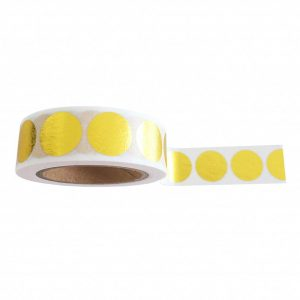 studio-stationery-washi-tape-golden-dots