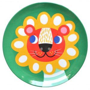 petit-monkey-melamine-bord-leeuw-groen