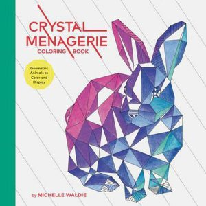 crystal-menagerie-coloring-book-geometric-animals