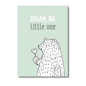 miekinvorm-kaart-dream-big-little-one