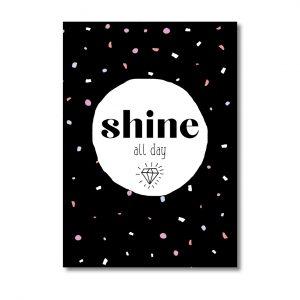 miekinvorm-kaart-shine-all-day