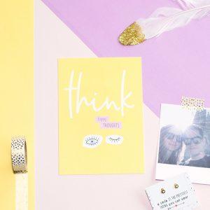 miekinvorm-kaart-think-happy-thoughts