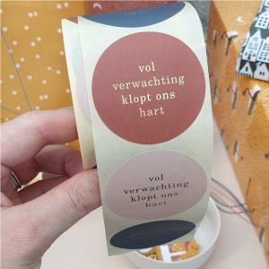vol-verwachting-klopt-ons-hart-cadeau-stickers