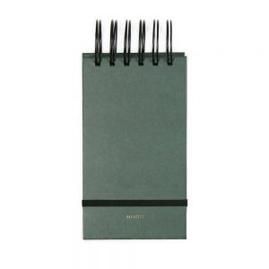 notepad-small-forest-green-house-of-products
