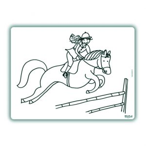 edwali-inkleurbare-place-mat-hop-paardje-hop
