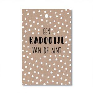 een-kadootje-van-de-sint-kado-mini-kaart