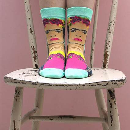 frida-kahlo-printed-socks-house-of-disaster`