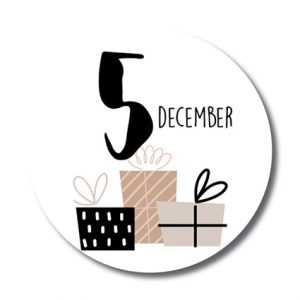 sticker-5-december-cadeau