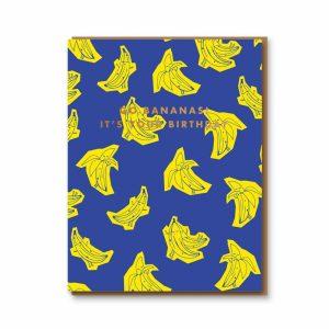 oliver-bonas-wenskaart-go-bananas-its-your-birthday