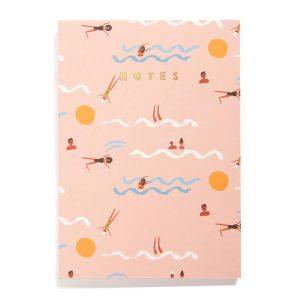 notes-notitie-notitieschrift-swimmers-zwemmen