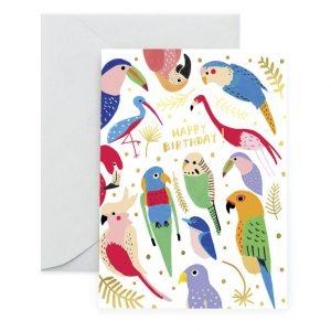 carolyn-suzuki-verjaardagskaart-verjaardag-tropical-feathers