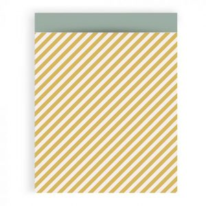 cadeauzakje-stripe-yellow-house-of-products