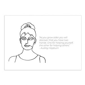 audrey-hepburn-kaart-inspiring-women