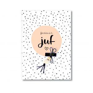 juf-geluks-popje-kaart