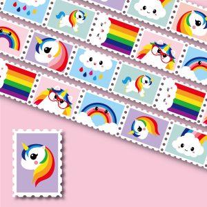 stamp-washi-tape-studio-inktvis-unicorn-regenboog