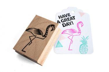 miss honeybird stempel flamingo